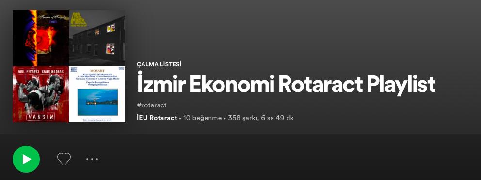 İzmir Ekonomi Rotaract Kulübü